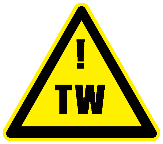 This site uses the Trigger Warning emblem. Being a mental health author means that I will inevitably touch upon sensitive subject material. As a reader, I understand what it is to have a trigger accidentally tripped. Therefore, I want to warn sensitive readers before hand about the personal, and sometimes painful, subject material within. Please read with caution.